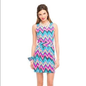 CLOSEOUT💥 Lilly Pulitzer Chevron Cocktail Dress